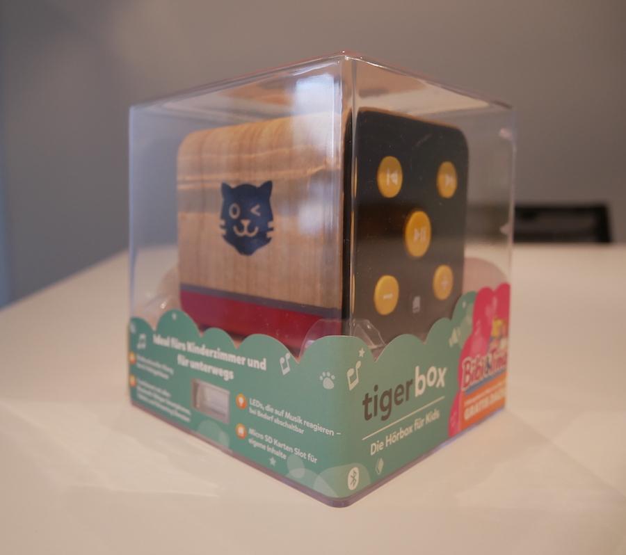 Tigerbox-Verpackung